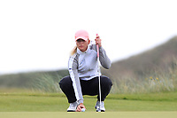 Daniella Barrett (FIN) on the 7th green during Round 3 Matchplay of the Women's Amateur Championship at Royal County Down Golf Club in Newcastle Co. Down on Friday 14th June 2019.<br /> Picture:  Thos Caffrey / www.golffile.ie