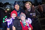 Celtic Manor Resort Fireworks Spectacular 2017.<br /> John Watkins, Max Watkins, Harri Watkins &amp; Cheryl Watkins.<br /> 04.11.17<br /> &copy;Steve Pope - Fotowales