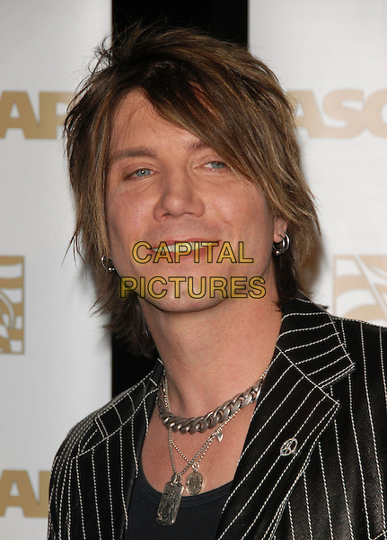 JOHN RZEZNIK - THE GOO GOO DOLLS.Attends The ASCAP Pop Awards held at The Kodak Theatre in Hollywood, California on .April 18th, 2007.headshot portrait silver necklace .CAP/DVS.©Debbie VanStory/Capital Pictures
