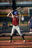 Nicholas Kumor during the Under Armour All-America Tournament powered by Baseball Factory on January 18, 2020 at Sloan Park in Mesa, Arizona.  (Zachary Lucy/Four Seam Images)