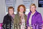 Kathleen Burke, Kristin Gleeson and Peggy Healy enjoying the Gathering Festival in the Gleneagle Hotel on Saturday night