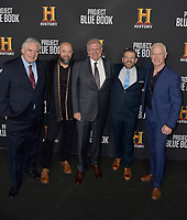 03 January 2019 - Los Angeles, California - Michael Harney, Sean Jablonski, Robert Zemeckis, David O'Leary, Neal McDonough. &quot;Project Blue Book&quot; History Scripted Series Los Angeles Premiere held at Simon House.          <br /> CAP/ADM<br /> &copy;ADM/Capital Pictures