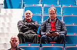 ***BETALBILD***  <br /> Stockholm 2015-09-19 Ishockey SHL Djurg&aring;rdens IF - Skellefte&aring; AIK :  <br /> Fd TV-kommentator Arne Hegerfors p&aring; l&auml;ktaren under matchen mellan Djurg&aring;rdens IF och Skellefte&aring; AIK <br /> (Foto: Kenta J&ouml;nsson) Nyckelord:  Ishockey Hockey SHL Hovet Johanneshovs Isstadion Djurg&aring;rden DIF Skellefte&aring; SAIK portr&auml;tt portrait