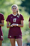 15 October 2016: Florida State's Malia Berkely. The North Carolina State University Wolfpack hosted the Florida State University Seminoles at Dail Soccer Field in Raleigh, North Carolina in a 2016 NCAA Division I Women's Soccer match. FSU won the game 1-0.
