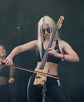 Grace Chatto of Clean Bandit performs with the Band during The New Look Wireless Music Festival at Finsbury Park, London, England on Sunday 05 July 2015. Photo by Andy Rowland.