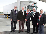 Cllr. Finnan McCoy, Cllr Oliver Tully, Eamonn Martin, National Fuel Card Manager from Top, Peter Savage, Chairman of Louth County Council and Cllr Jim Lennon at the Official Opening of the new Applegreen Service Station on the M1 Southbound at Castlebellingham....Picture Jenny Matthews/Newsfile.ie