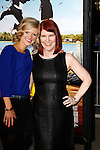 LOS ANGELES, CA - FEB 16: Kate Flannery; Arden Myrin at the premiere of Universal Pictures' 'Wanderlust' held at Mann Village Theatre on February 16, 2012 in Los Angeles, California