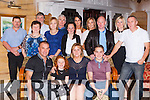 Ann Carey Muckross, seated centre celebrated her 40th birthday with her husband Richard and children Christopher and Lauren and friends and family in the Killarney avenue hotel on saturday night