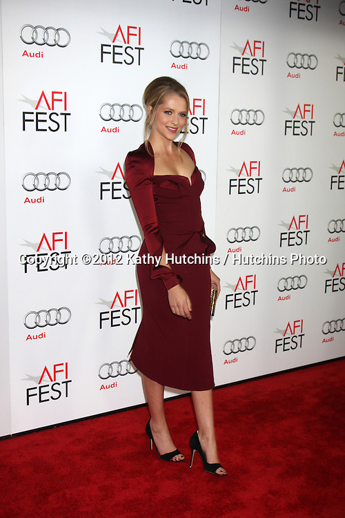"LOS ANGELES - NOV 8:  Teresa Palmer arrives at the ""Lincoln"" Premiere at the AFI Fest at Graumans Chinese Theater on November 8, 2012 in Los Angeles, CA"