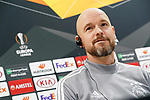AFC Ajax's coach Erik ten Hag in press conference after training session. February 19,2020.(ALTERPHOTOS/Acero)