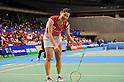 Sayaka Sato (JPN), September 22, 2011 - Badminton : YONEX Open Japan 2011, Women's Singles at Tokyo Metropolitan Gymnasium, Tokyo, Japan. (Photo by Jun Tsukida/AFLO SPORT) [0003]