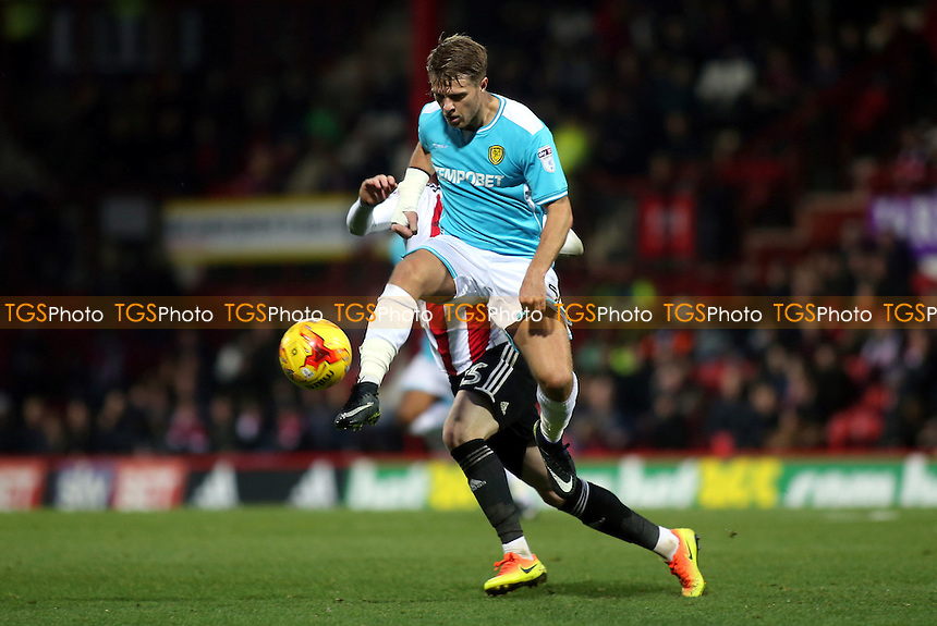 Jamie Ward of Burton Albion in action during Brentford vs Burton Albion, Sky Bet EFL Championship Football at Griffin Park on 10th December 2016