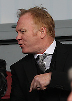 Alex McLeish an interested spectator at the St Mirren v Dundee United Clydesdale Bank Scottish Premier League match played at St Mirren Park, Paisley on 27.10.12.