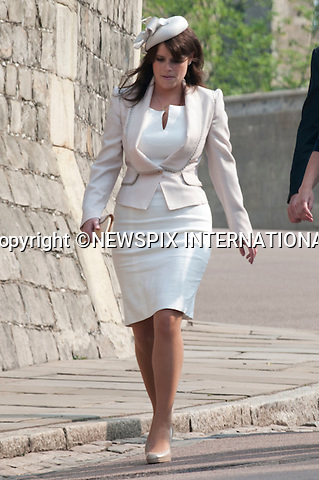 "THE ROYAL FAMILY ATTEND EASTER SERVICE.The Queen, Prince Phillip, Princess Anne, Prince Andrew, Prince Edward, Princess Beatrice, Princess Eugenie, Sophie Countess of Wessex and Tim Lawrence attended the Easter Service at St Georges Chapel, Windsor Castle_24/04/2011.Mandatory Photo Credit: ©Dias/Newspix International..**ALL FEES PAYABLE TO: ""NEWSPIX INTERNATIONAL""**..PHOTO CREDIT MANDATORY!!: NEWSPIX INTERNATIONAL(Failure to credit will incur a surcharge of 100% of reproduction fees)..IMMEDIATE CONFIRMATION OF USAGE REQUIRED:.Newspix International, 31 Chinnery Hill, Bishop's Stortford, ENGLAND CM23 3PS.Tel:+441279 324672  ; Fax: +441279656877.Mobile:  0777568 1153.e-mail: info@newspixinternational.co.uk"
