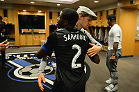 San Jose, CA - Wednesday June 28, 2017: Kofi Sarkodie during a U.S. Open Cup Round of 16 match between the San Jose Earthquakes and the Seattle Sounders FC at Avaya Stadium.
