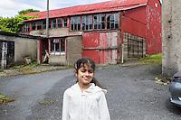 Nixie Callan's dairy farm, Rope Walk with Safina Drogheda (May 2014)