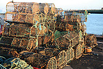Lobster pots, Orford Quay, Suffolk, England