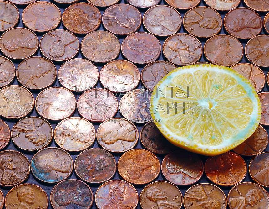 LEMON REMOVES COPPER TARNISH (2 of 2)<br />