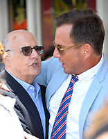 Jeffrey Tambor &amp; Will Arnett at the Hollywood Walk of Fame Star Ceremony honoring actor Jason Bateman. Los Angeles, USA 26 July 2017<br /> Picture: Paul Smith/Featureflash/SilverHub 0208 004 5359 sales@silverhubmedia.com