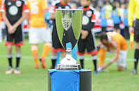 Eastern Conference Trophy. D.C. United tied The Houston Dynamo 1-1 but lost in the overall score 4-2 in the second leg of the Eastern Conference Championship at RFK Stadium, Sunday November 18, 2012.