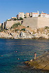 Calvi, Northwest coast of Corsica, France, Mediterranean Coast, Coastal towns in Corsica,