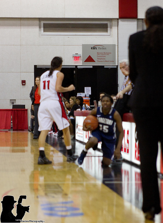 2011-11-27 UNLV Lady Rebels lose to Georgetown 45-64  in the UNLV Holiday Round-up at the Cox Pavillion