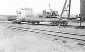 3/4 rear view of RGS Goose #7 rigged for the scrapping of the Gunnison lines.<br /> D&amp;RG/RGS  Gunnison, CO