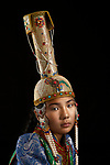 The traditional clothes of Mongolians by Alessandra Meniconzi