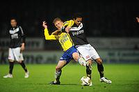 VOETBAL: LEEUWARDEN: Cambuur Stadion, 10-05-2012, SC Cambuur - VVV, Nacompetitie, Eindstand 0-0, Bob Schepers (#27), Michael Timisela (#2), ©foto Martin de Jong