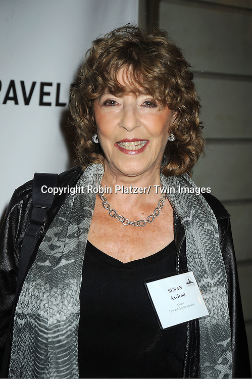 "Susan Axelrod  attends the 25th Annual Citymeals-on-Wheels ""Power Lunch for Women""  on November 18, 2011 at The Pierre Hotel in New York City."