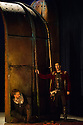 London, UK. 15.10.2014. English Touring Opera presents OTTONE, by George Frideric Handel, directed by James Conway, at the Hackney Empire. Picture shows:  Grant Doyle (Emireno) and Clint van der Linde (Ottone). Photograph © Jane Hobson.