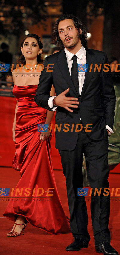 Jack Huston (R) and Caterina Murino<br /> Third edition of the Rome International film festival<br /> Roma 26/10/2008 <br /> Red Carpet  'The Garden of Eden&quot;<br /> Photo Andrea Staccioli Insidefoto