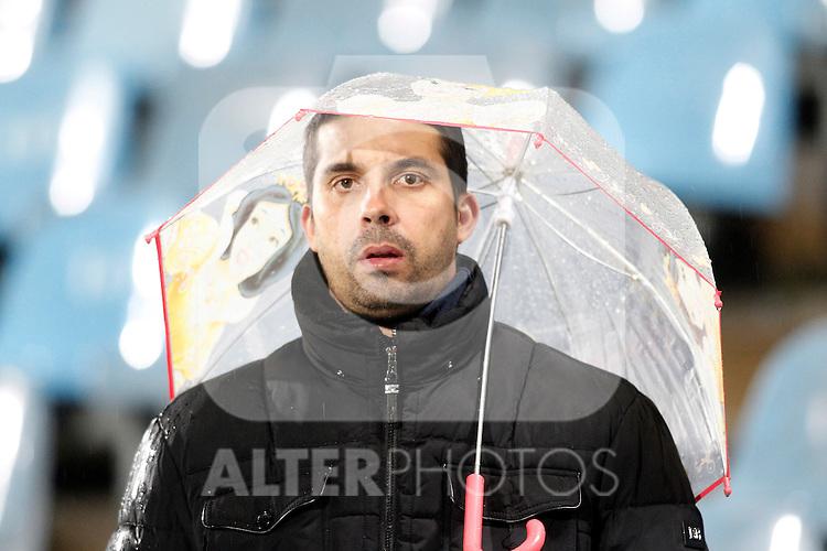 Getafe's supporter during La Liga match. March 18,2016. (ALTERPHOTOS/Acero)