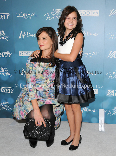 Katie Holmes Cruise and Bailee Madison at Variety's 2nd Annual Power of Women Luncheon held at The Beverly Hills Hotel in Beverly Hills, California on September 30,2010                                                                               © 2010 Hollywood Press Agency