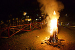 Bonfire At Altos De Caño Honda