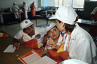 Training to improve food processing quality