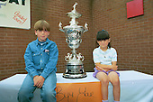 Blackpool FC Open Day August 1994,Lancashire Cup trophy.....© Phill Heywood.tel 07806 775649