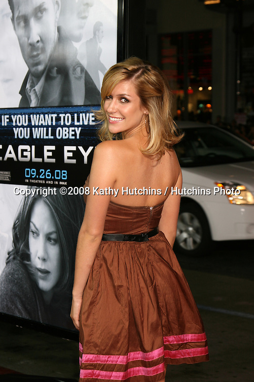 """Kristin Cavallari arriving at the premiere of """"Eagle Eye"""" at Mann's Chinese Theater in Los Angeles ,CA on.September 16, 2008.©2008 Kathy Hutchins / Hutchins Photo...."""