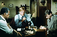 The Sting (1973) <br /> Robert Redford, Robert Earl Jones &amp; Jack Kehoe<br /> *Filmstill - Editorial Use Only*<br /> CAP/MFS<br /> Image supplied by Capital Pictures
