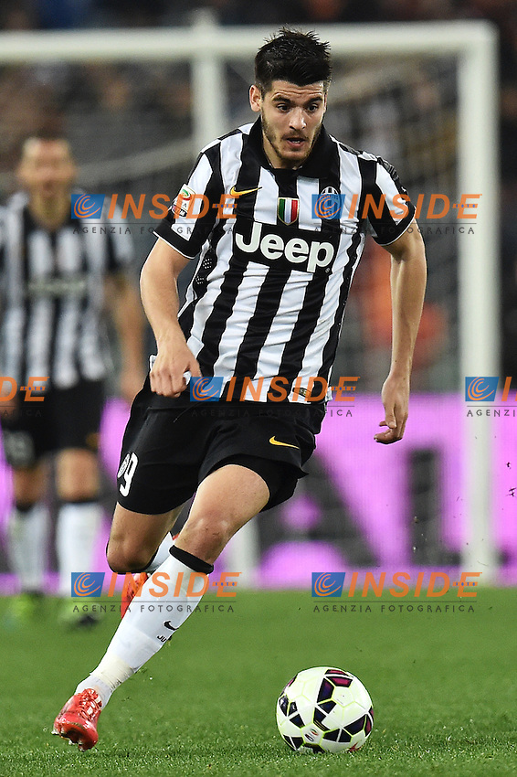 Alvaro Morata Juventus <br /> Roma 02-03-2015 Stadio Olimpico Football Calcio Serie A AS Roma - Juventus. Foto Andrea Staccioli / Insidefoto
