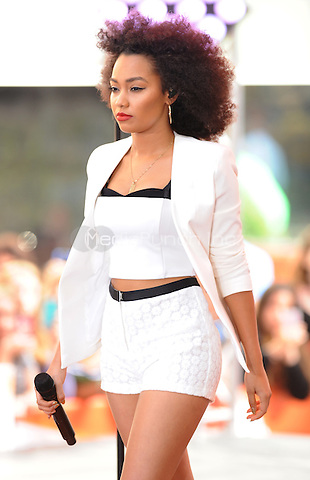 New York,NY-June 17: Leigh-Anne Pinnock at the  Today Show in New York City on June 17, 2014. ©Credit: John Palmer/MediaPunch.