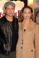 "20 September 2016 - Los Angeles, CA - Angelina Jolie Pitt has filed for divorce from Brad Pitt. Jolie Pitt, 41, filed legal docs Monday citing irreconcilable differences. Jolie Pitt requested physical custody of the couple's shared six children – Maddox, Pax, Zahara, Shiloh, Vivienne, and Knox – asking for Pitt to be granted visitation, citing legal documents. File Photo: 5 November 2007 - Westwood, California - Brad Pitt and Angelina Jolie. ""Beowulf"" Los Angeles Premiere at Mann's Village Theatre. Photo Credit: Byron Purvis/AdMedia"