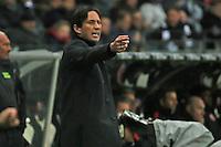 Trainer Roger Schmidt (Bayer)  - Eintracht Frankfurt vs. Bayer 04 Leverkusen, Commerzbank Arena