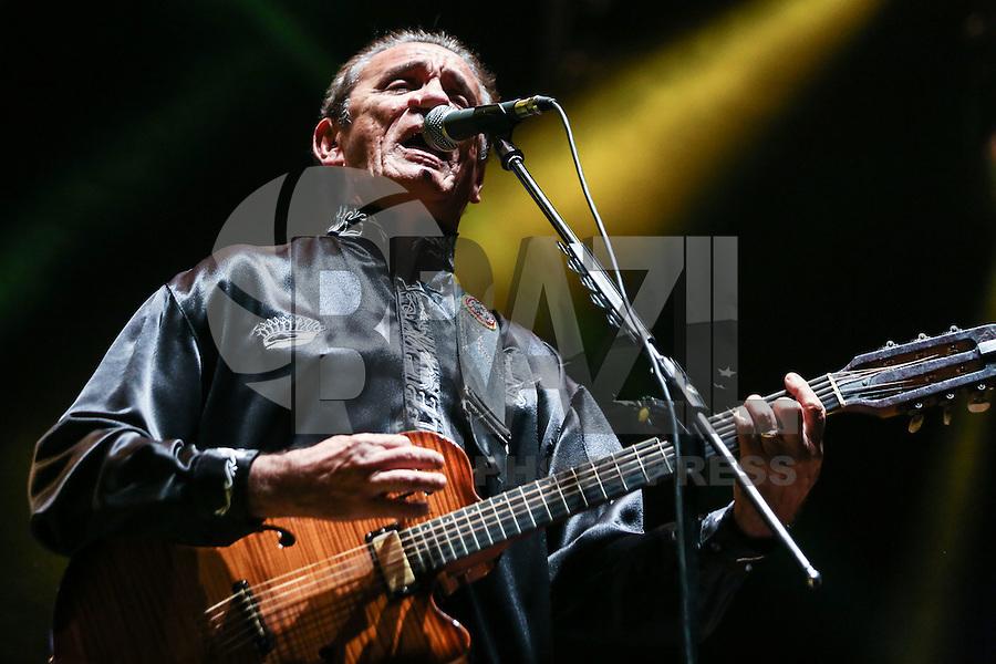 SÃO PAULO,SP, 29.08.2015 - FESTIVAL-SP - O cantor Zé Ramalho durante apresentação no Festival Nova Brasil Fm na Arena Anhembi na região norte de São Paulo na noite deste sábado, 29. (Foto: William Volcov/Brazil Photo Press)