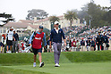 Webb Simpson (USA),.JUNE 17, 2012 - Golf :.Webb Simpson of the United States walks with his caddie during the final round of the 2012 U.S. Open golf tournament at Lake Course of The Olympic Club in San Francisco, California, United States. (Photo by Thomas Anderson/AFLO) (JAPANESE NEWSPAPER OUT)