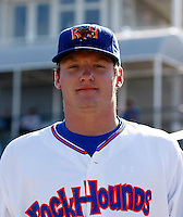 Josh Donaldson - Midland Rockhounds.2009 Texas League All-Star game held at Dr. Pepper Ballpark, Frisco, TX - 07/01/2009. The game was won by the North Division, 2-1..Photo by:  Bill Mitchell/Four Seam Images