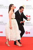Anna Passey and Nick Pickard arriving for the BAFTA TV Awards 2018 at the Royal Festival Hall, London, UK. <br /> 13 May  2018<br /> Picture: Steve Vas/Featureflash/SilverHub 0208 004 5359 sales@silverhubmedia.com