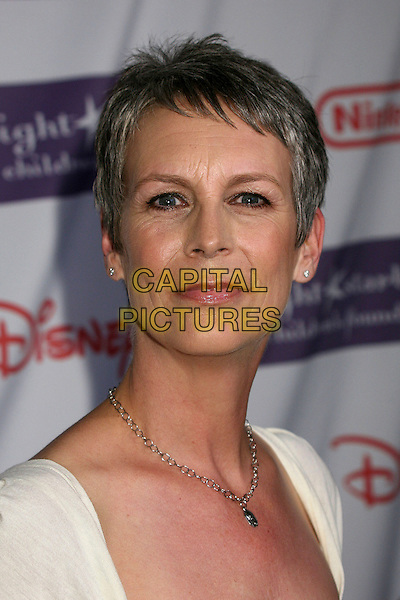 """JAMIE LEE CURTIS.Starlight Starbright Foundation's """"A Stellar Night Gala"""" 2007 at the Beverly Hilton Hotel, Beverly Hills, California , USA, 23 March 2007..portrait headshot.CAP/ADM/BP.©Byron Purvis/AdMedia/Capital Pictures."""