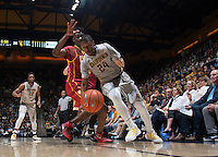 Berkeley, CA - February 28th, 2016:  CAL Men's Basketball's 87-65 victory against USC at Haas Pavilion.