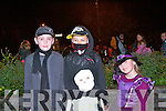 Enjoying the Halloween parade in Kenmare last Thursdasy were <br /> L-R Oisin Sweeney, Oscar Rutkowski and Dawil and Sylvia Grebowiec.